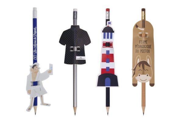 Cartonnette pour crayon