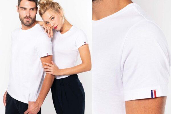 Tee-shirt Français en coton biologique