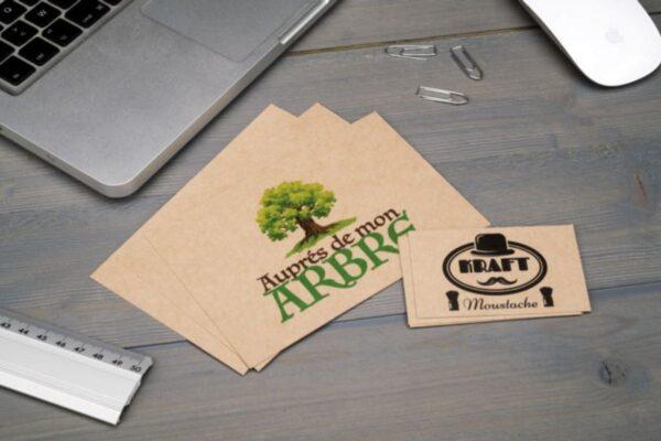 Cartes de visites écologiques