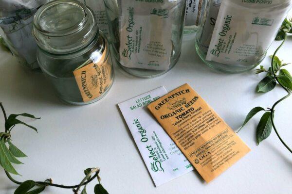 Sachet de graines à planter