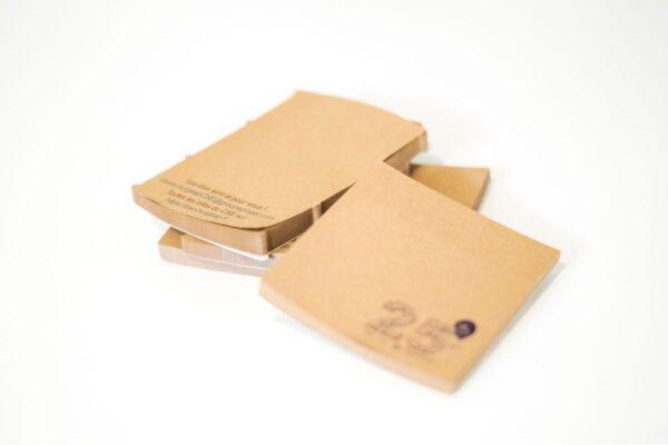 Bloc de notes en papier kraft