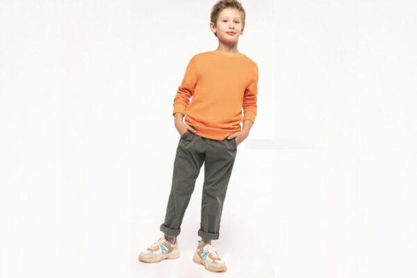 Sweat enfant en coton biologique