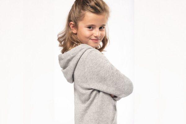 Sweat à capuche enfant en coton biologique