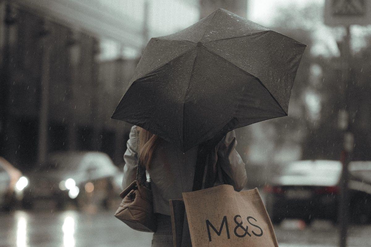 Parapluie en RPET 20,5''